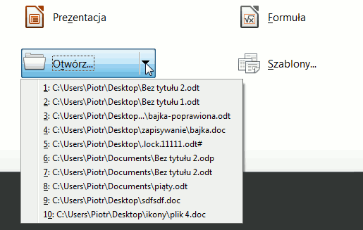 poprzednie dokumenty