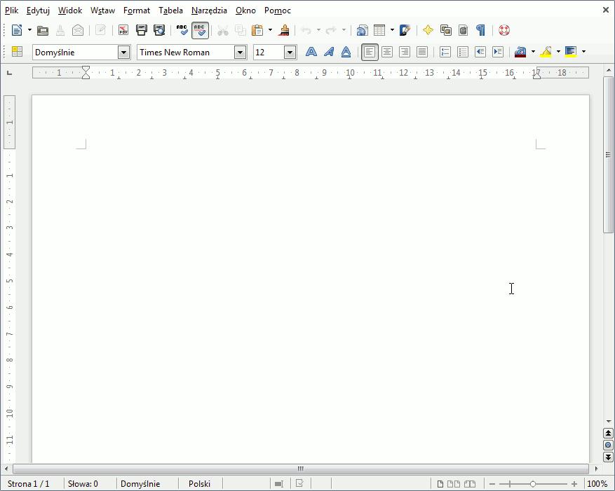 writer - odświeżony interface