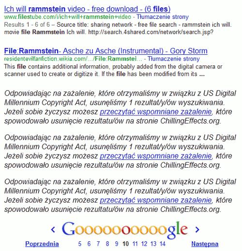 google pliki